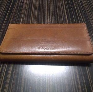 Vintage Coach women's wallet